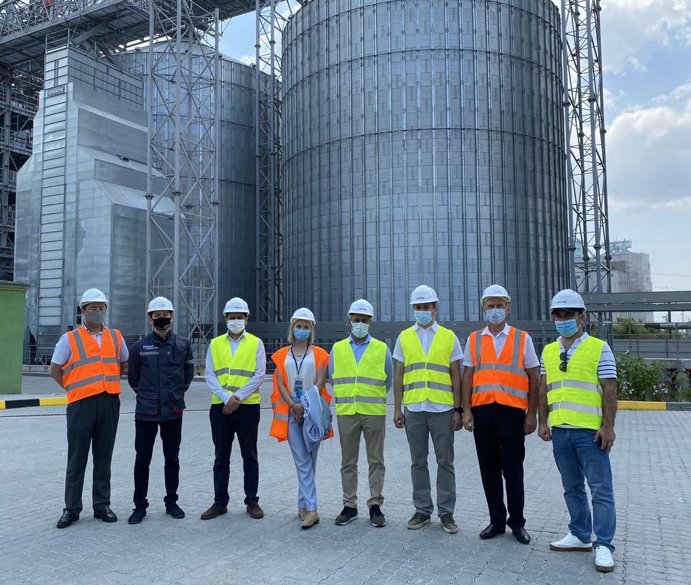 Візит турецької делегації на МКХП Зерновий Термінал (30.06.21)